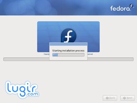 安装 Fedora,执行安装进程[图]