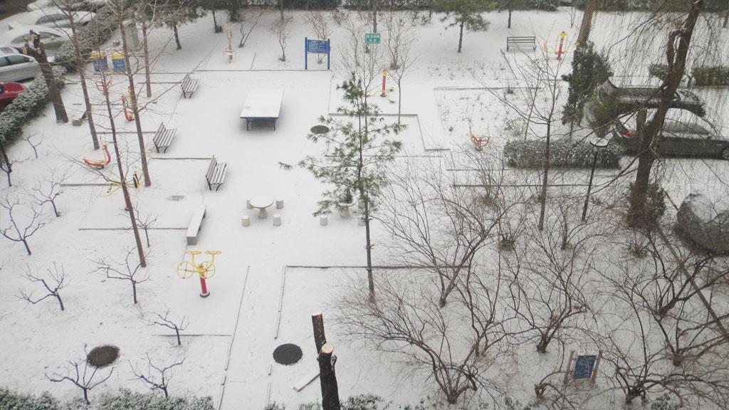 2012年12月12日北京雪景