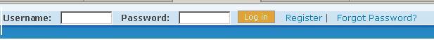 UserLoginBar - 用户登录工具栏